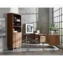 Hooker Furniture Transcend Contemporary Rustic Bookcase