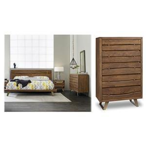5PC King Platform Bedroom Set
