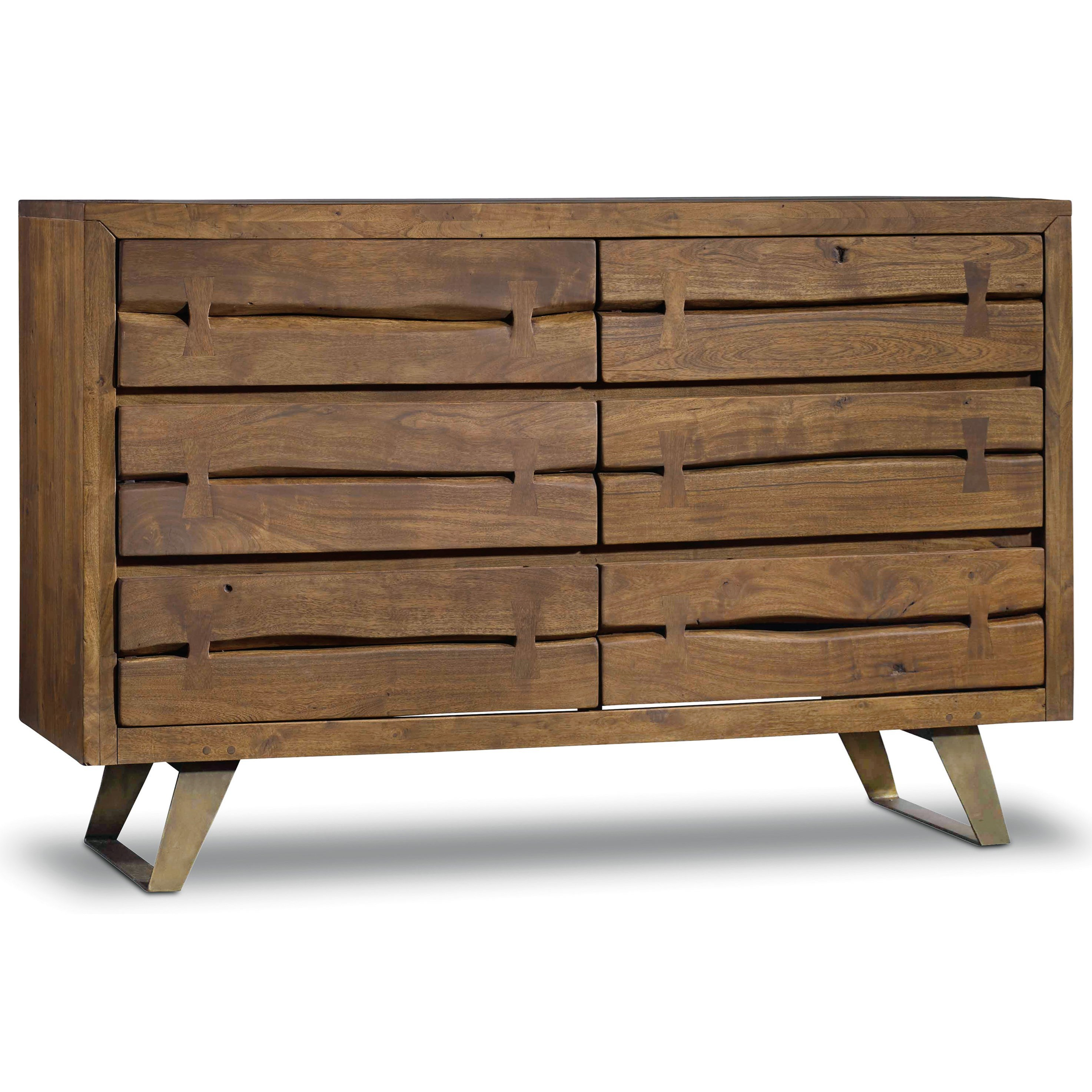 Hooker Furniture Transcend 6 Drawer Dresser - Item Number: 7000-90002