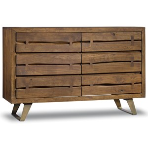 Hooker Furniture Transcend 6 Drawer Dresser