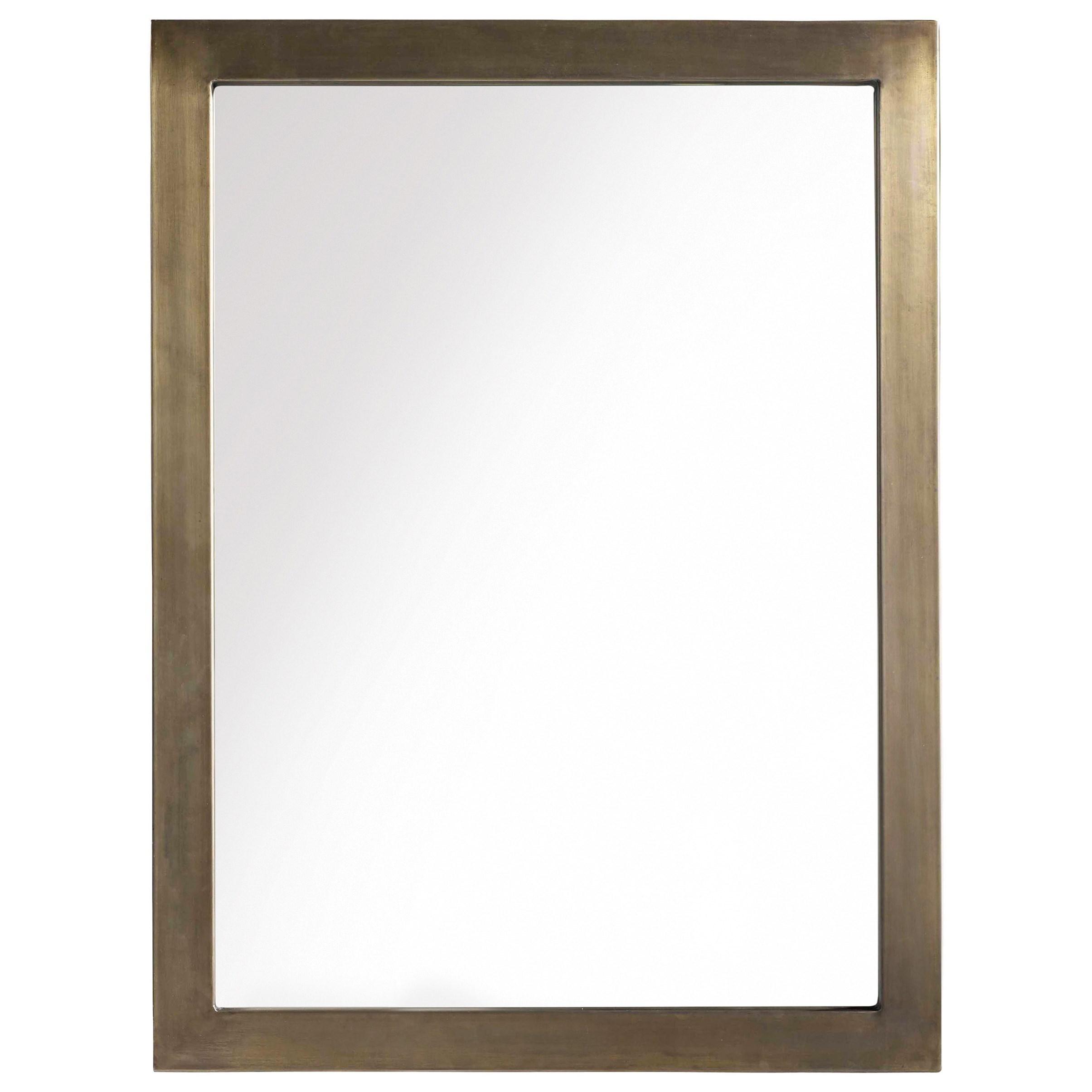 Hooker Furniture Transcend Mirror with Metal Frame - Item Number: 7000-90009