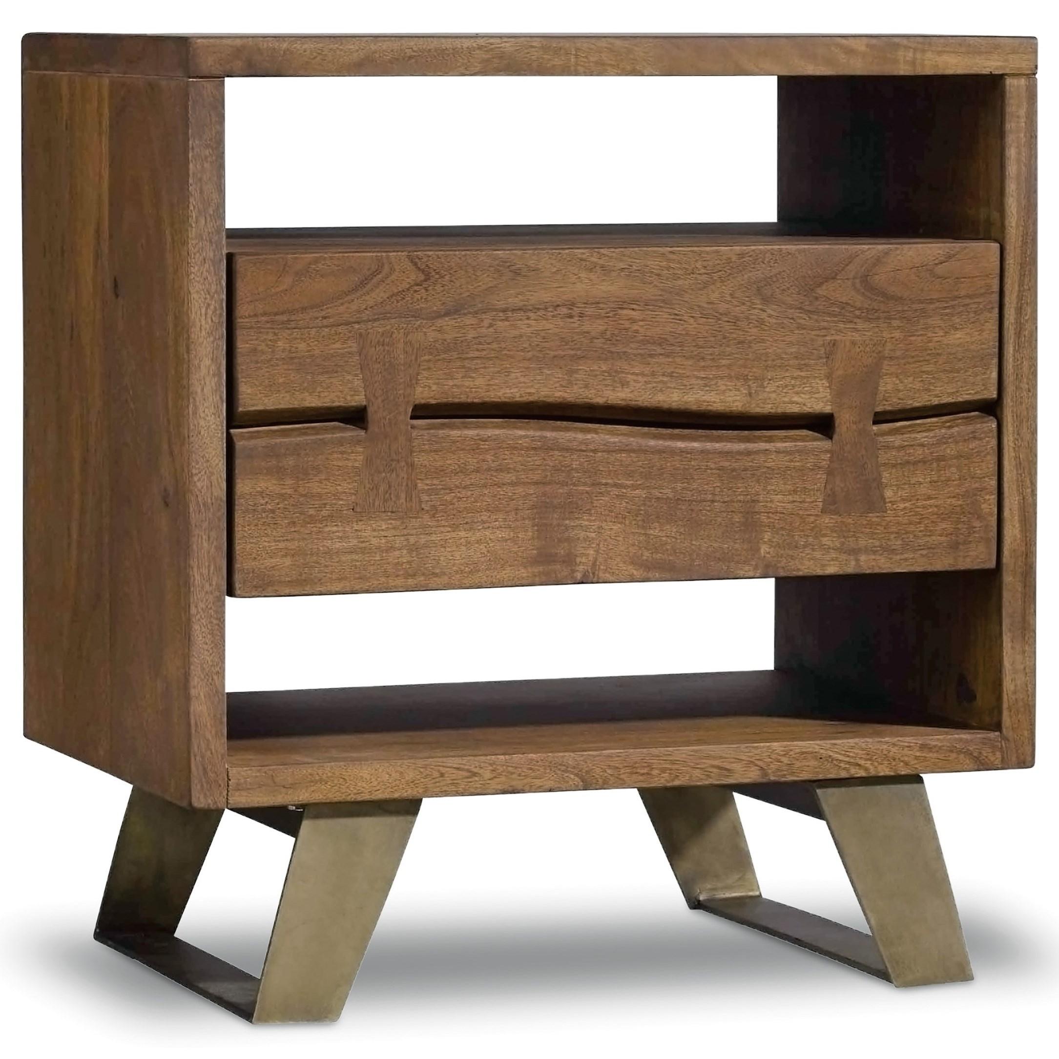 Hooker Furniture Transcend One Drawer Nightstand - Item Number: 7000-90015