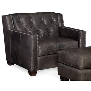 Hooker Furniture Trellis Stationary Leather Chair