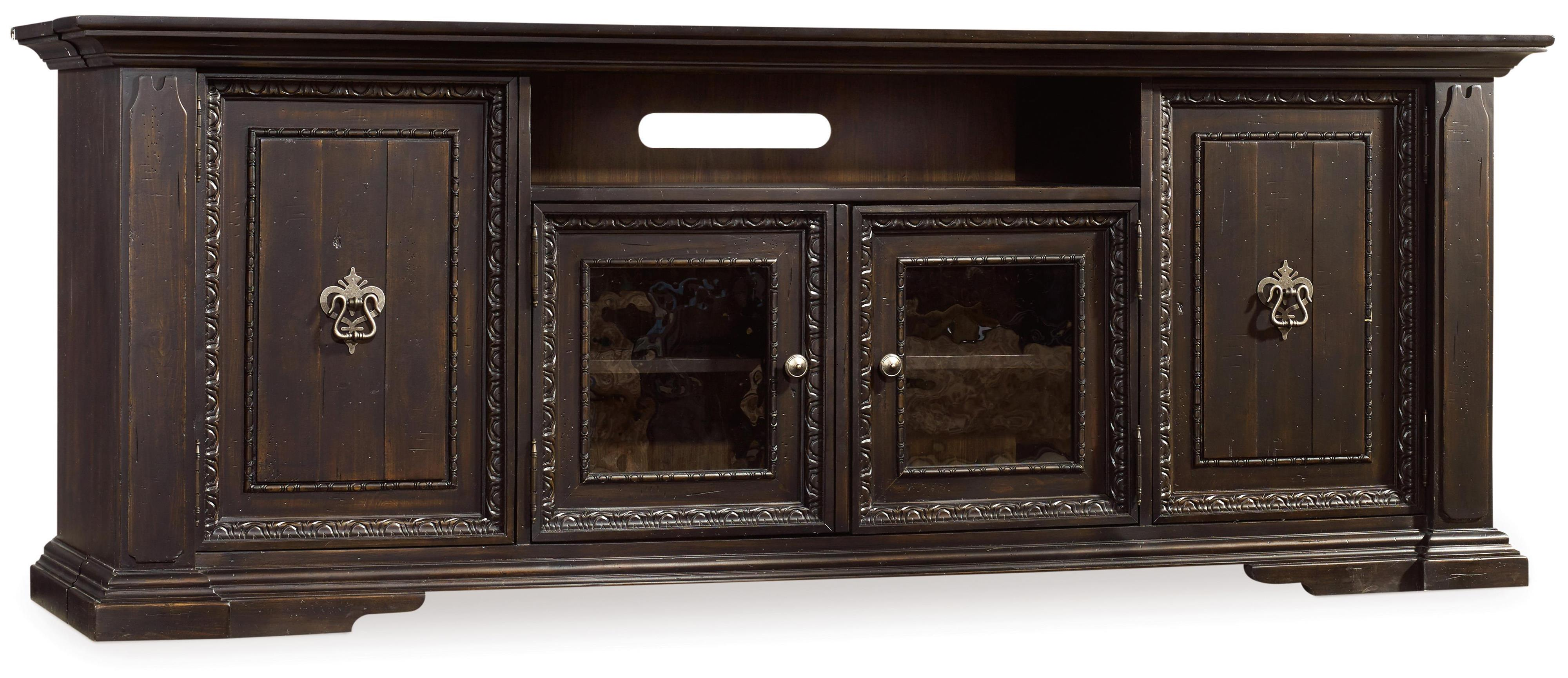 Hooker Furniture Treviso Entertainment Console - Item Number: 5374-70485