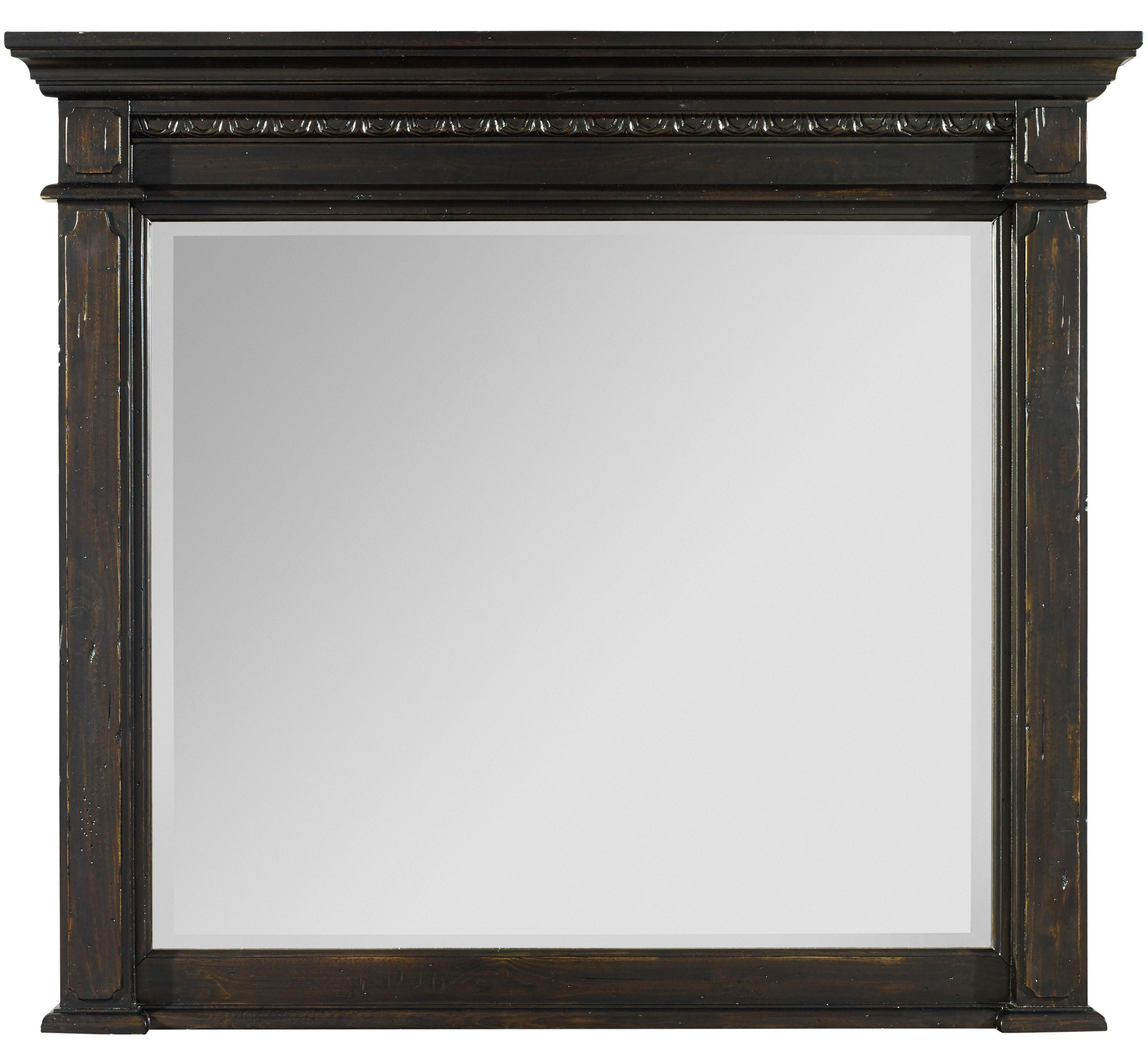 Hooker Furniture Treviso Mantle Landscape Mirror - Item Number: 5374-90006