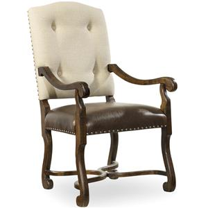 Hooker Furniture Treviso Camelback Arm Chair