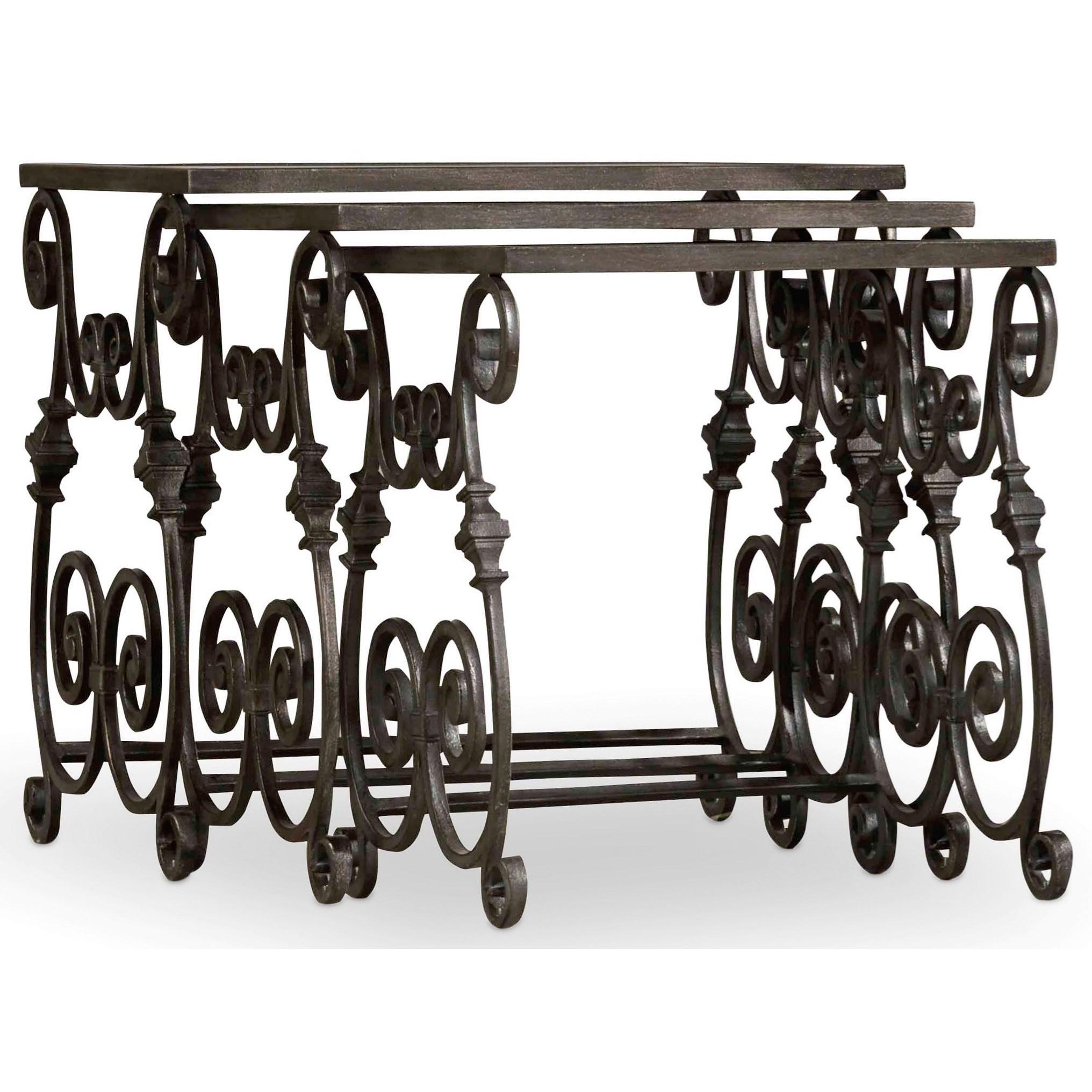 Hooker Furniture True Vintage Nest of Tables - Item Number: 5707-50001