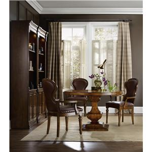 Hooker Furniture Tynecastle Formal Dining Room Group