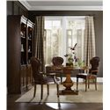 Hooker Furniture Tynecastle Formal Dining Room Group - Table Set Includes Additional Chair Not Pictured