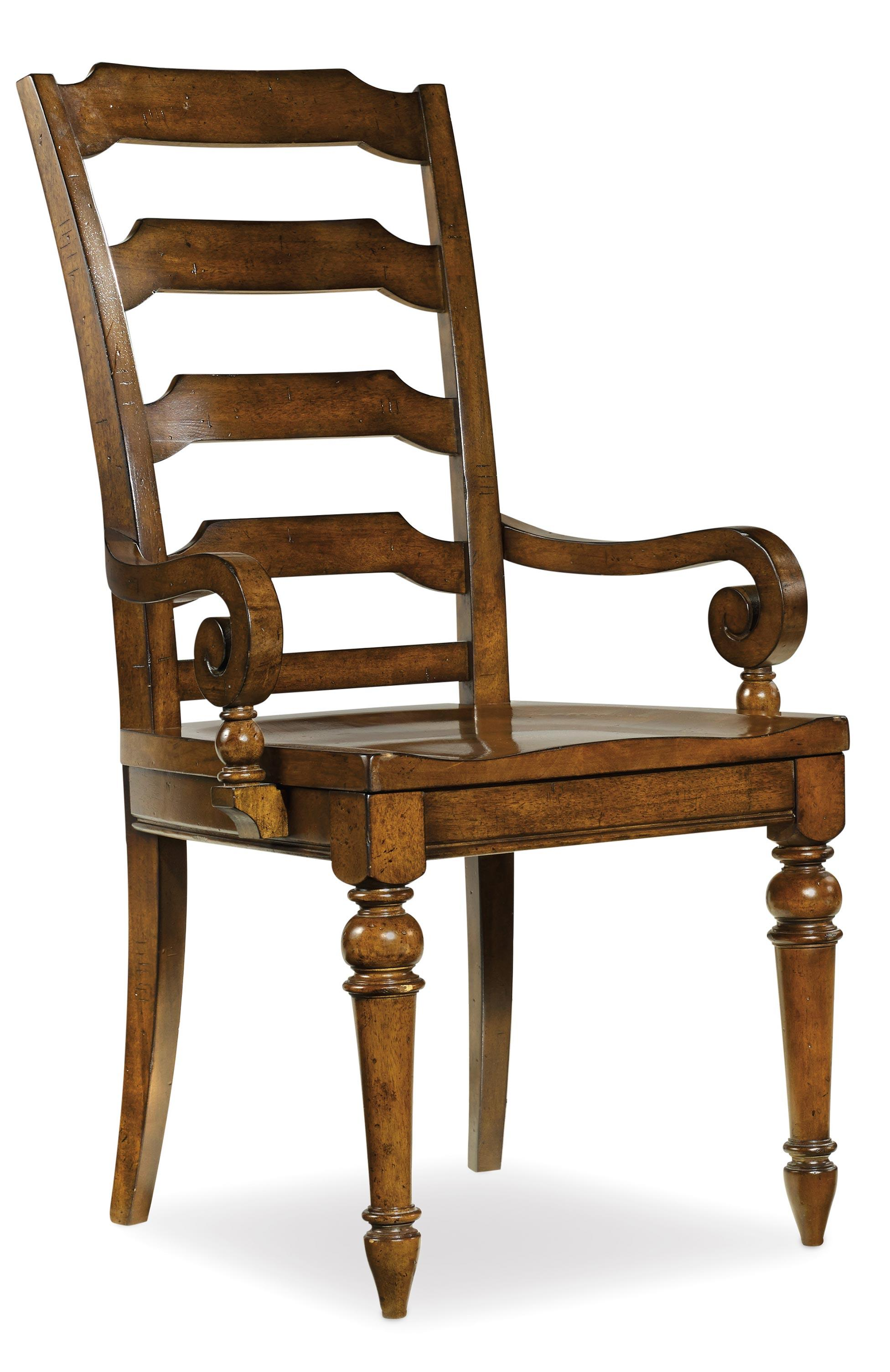 Hooker Furniture Tynecastle Dining Arm Chair - Item Number: 5323-75300