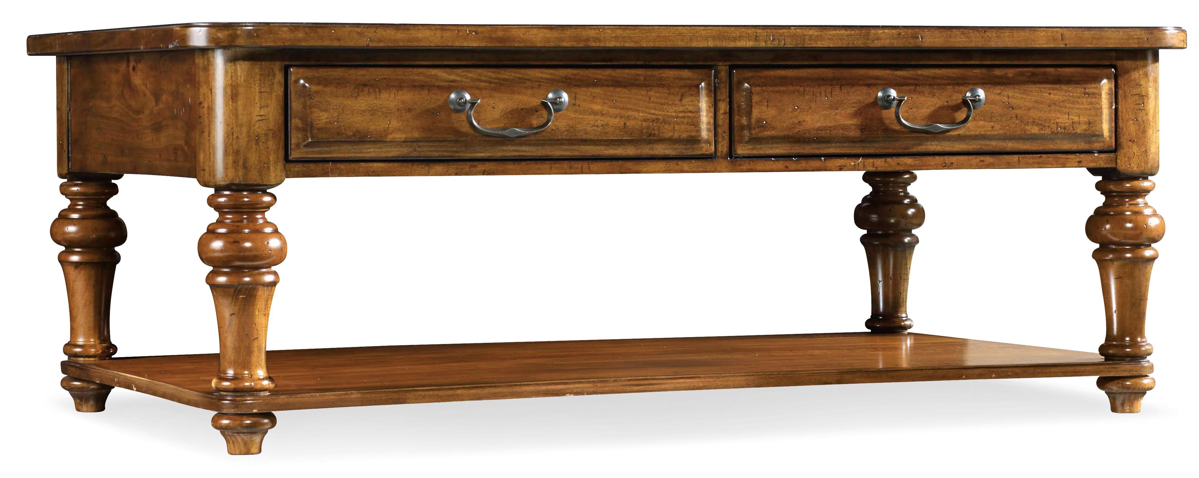 Hooker Furniture Tynecastle Cocktail Table - Item Number: 5323-80110