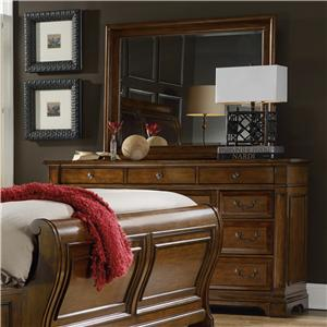 Hooker Furniture Tynecastle Dresser and Mirror Set