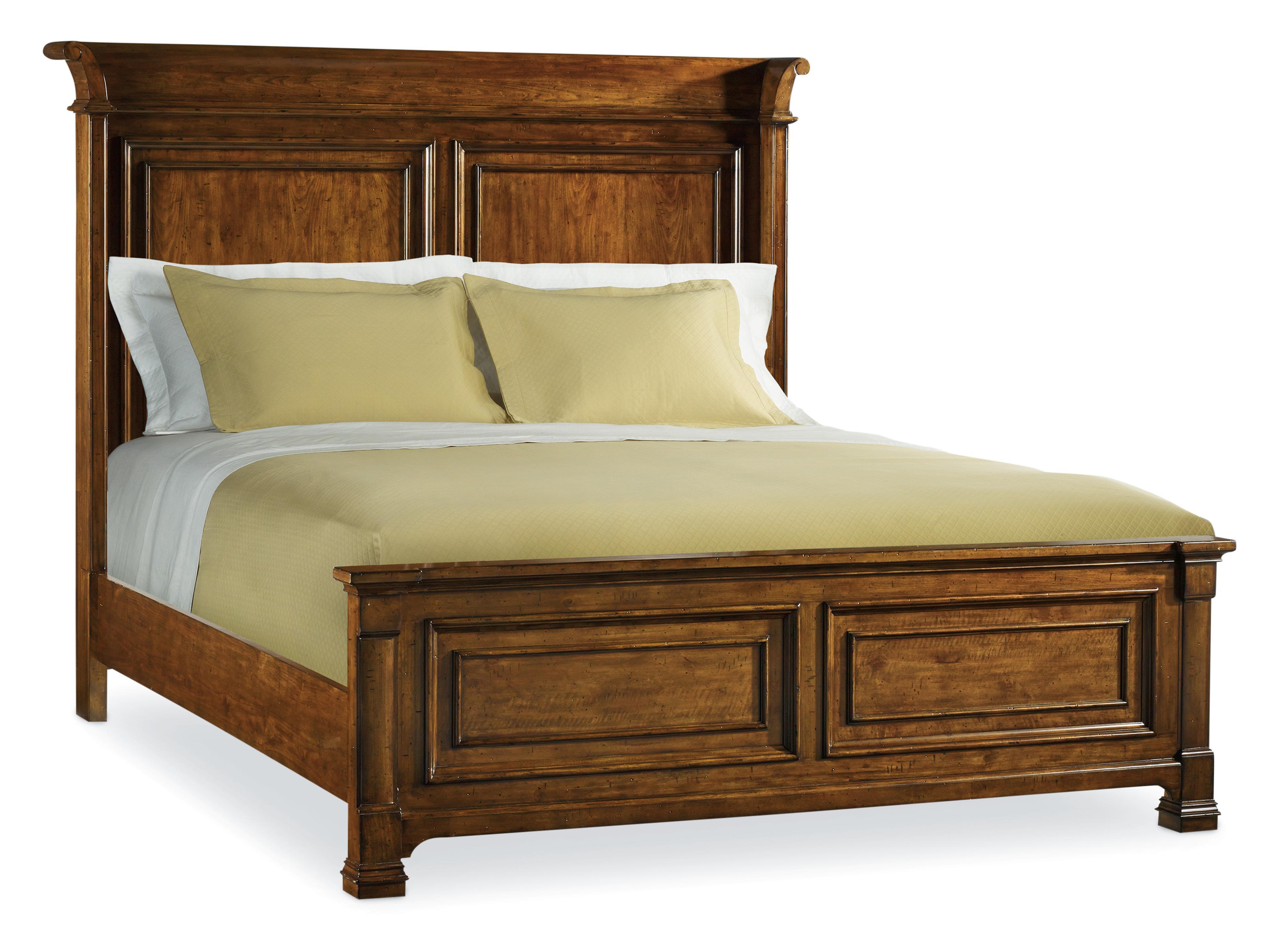 Hooker Furniture Tynecastle Queen Panel Bed - Item Number: 5323-90250