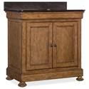 Hooker Furniture Bathroom Vanities Louis Bathroom Vanity - Item Number: 200-65000-MWD