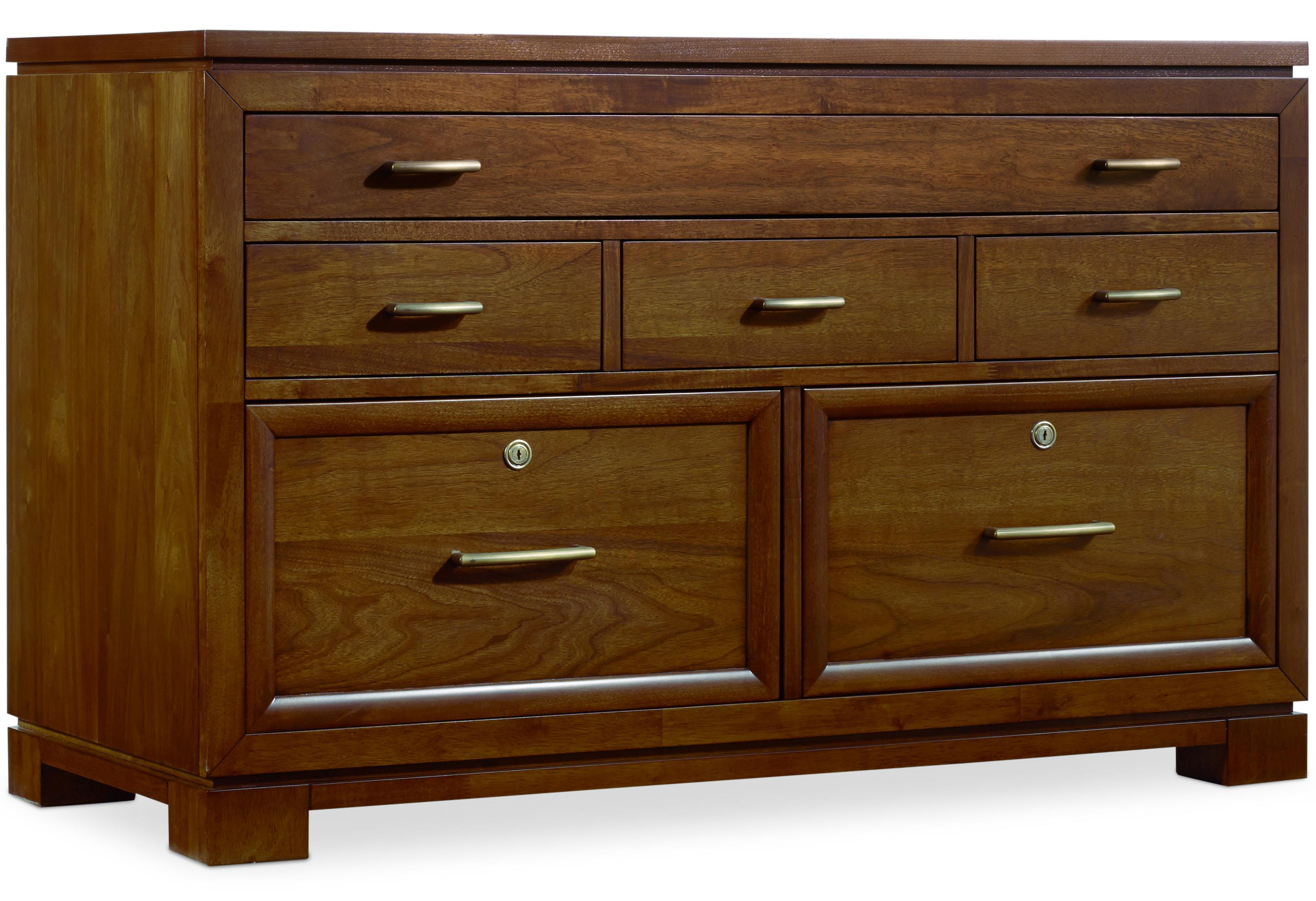 Hooker Furniture Viewpoint   Computer Credenza - Item Number: 5328-10434