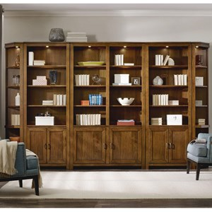 Hamilton Home Viewpoint   Bookcase Wall Unit