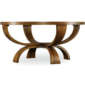 Hooker Furniture Viewpoint   Round Cocktail Table