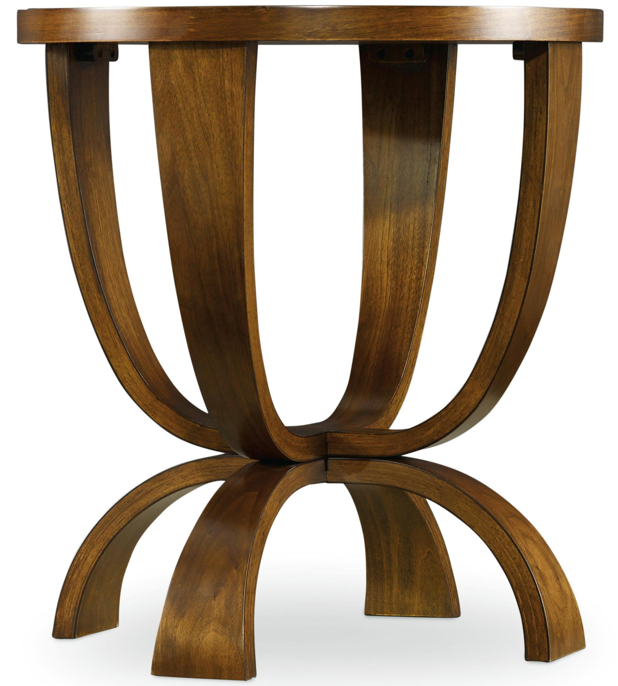 Hooker Furniture Viewpoint   Round End Table - Item Number: 5328-80114