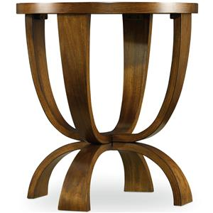 Hooker Furniture Viewpoint   Round End Table