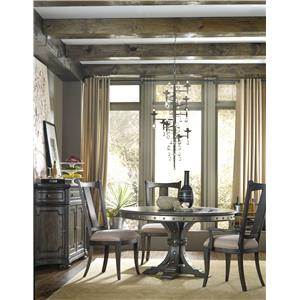 Hooker Furniture Vintage West Formal Dining Room Group
