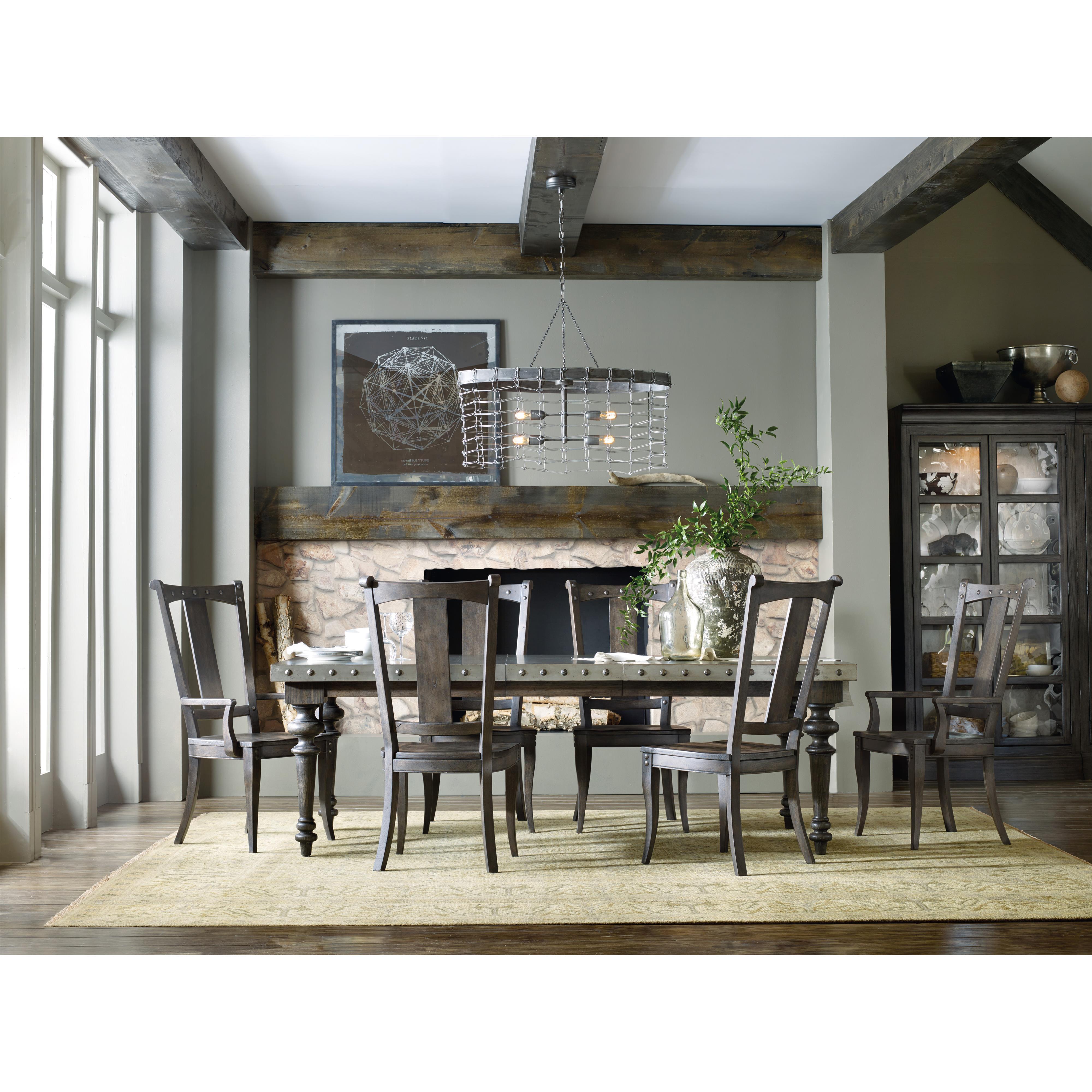 Hooker dining room table