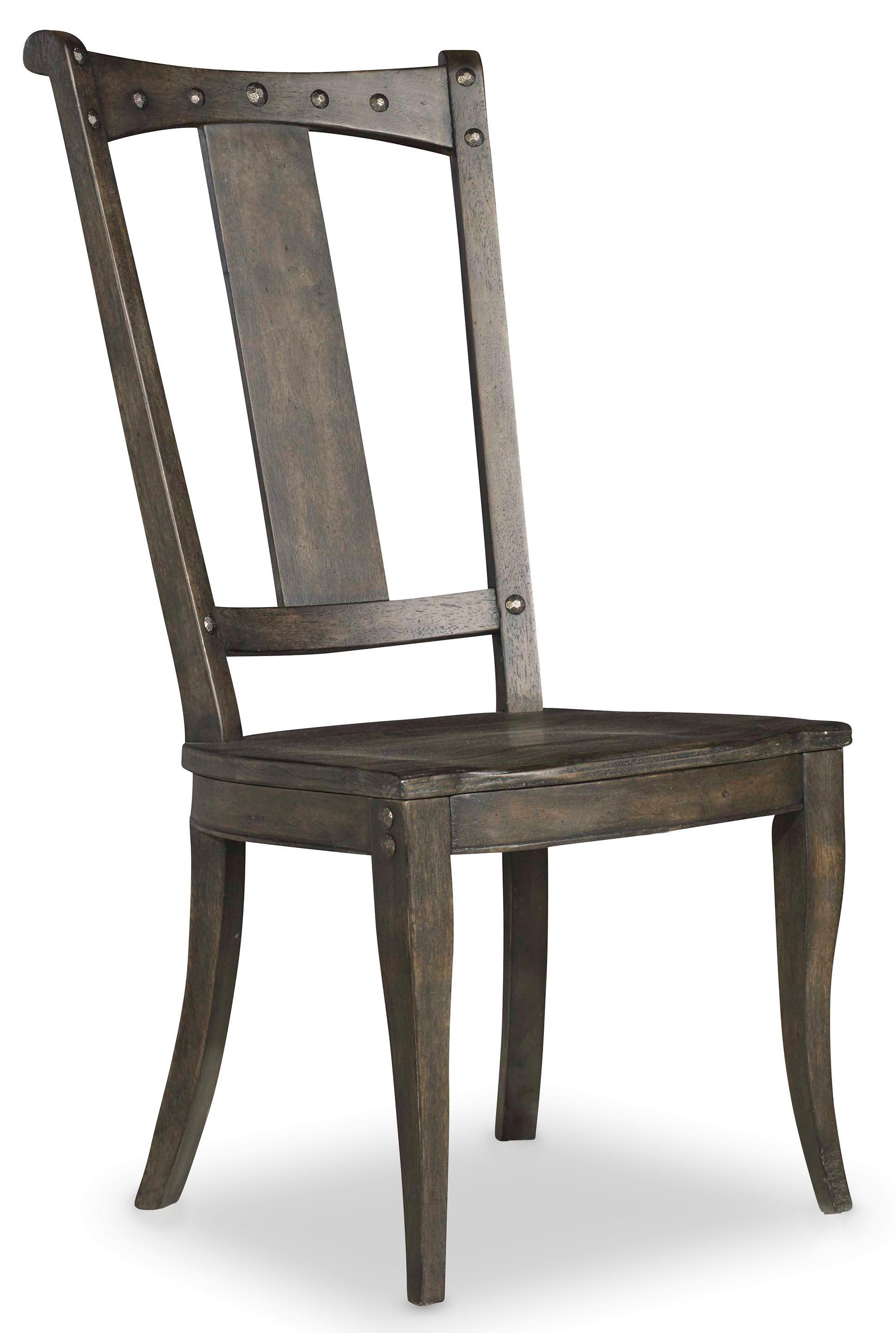 Hooker Furniture Vintage West Splatback Side Chair - Item Number: 5700-75310
