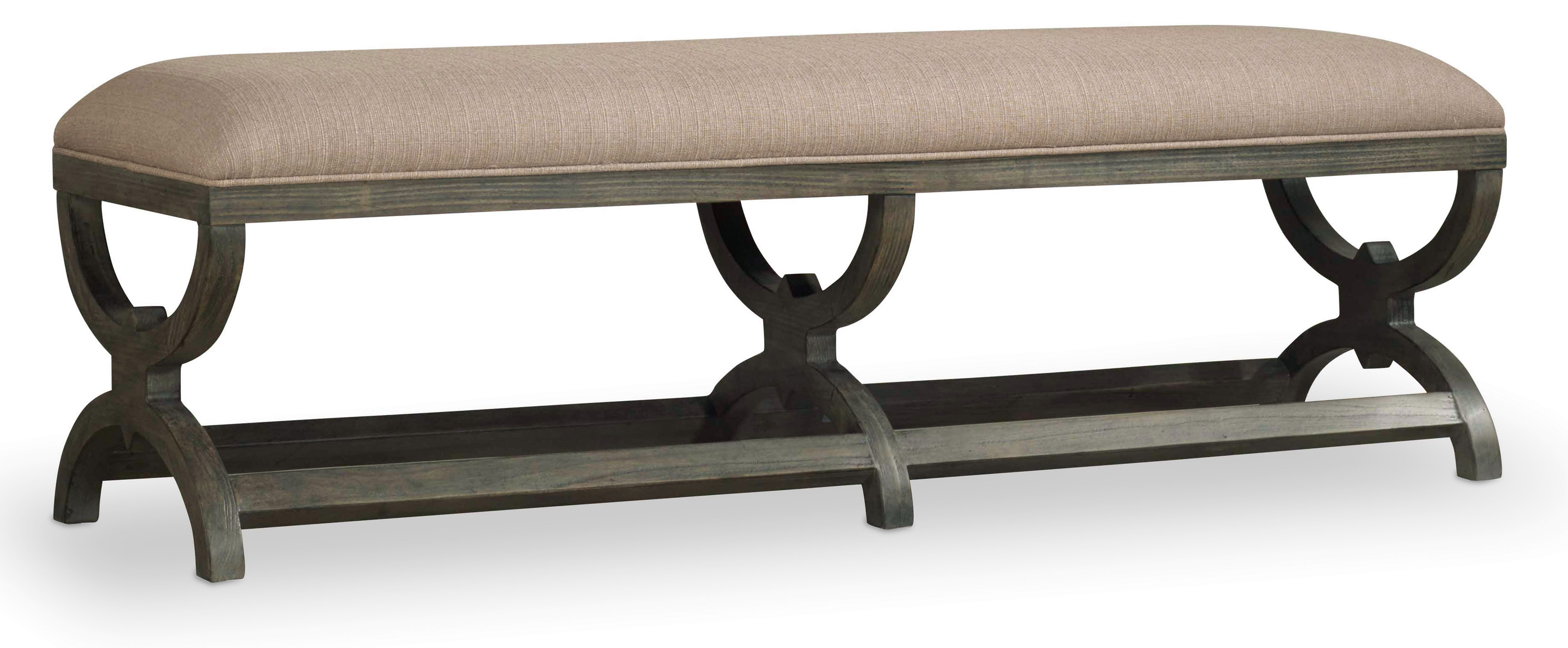 Hooker Furniture Vintage West True Vintage Bench - Item Number: 5702-90019