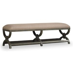 Hooker Furniture Vintage West True Vintage Bench