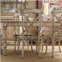 Hooker Furniture Wakefield Rectangular Leg Dining Table with Two-Tone Distressed Finish