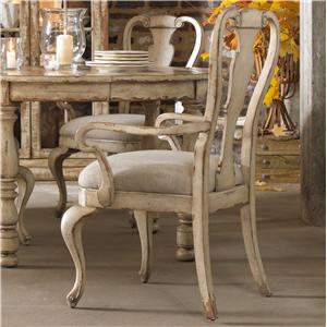 Hooker Furniture Wakefield Splatback Arm Chair