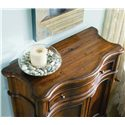 Hooker Furniture Waverly Place Waverly Shaped Hall Console - Top View