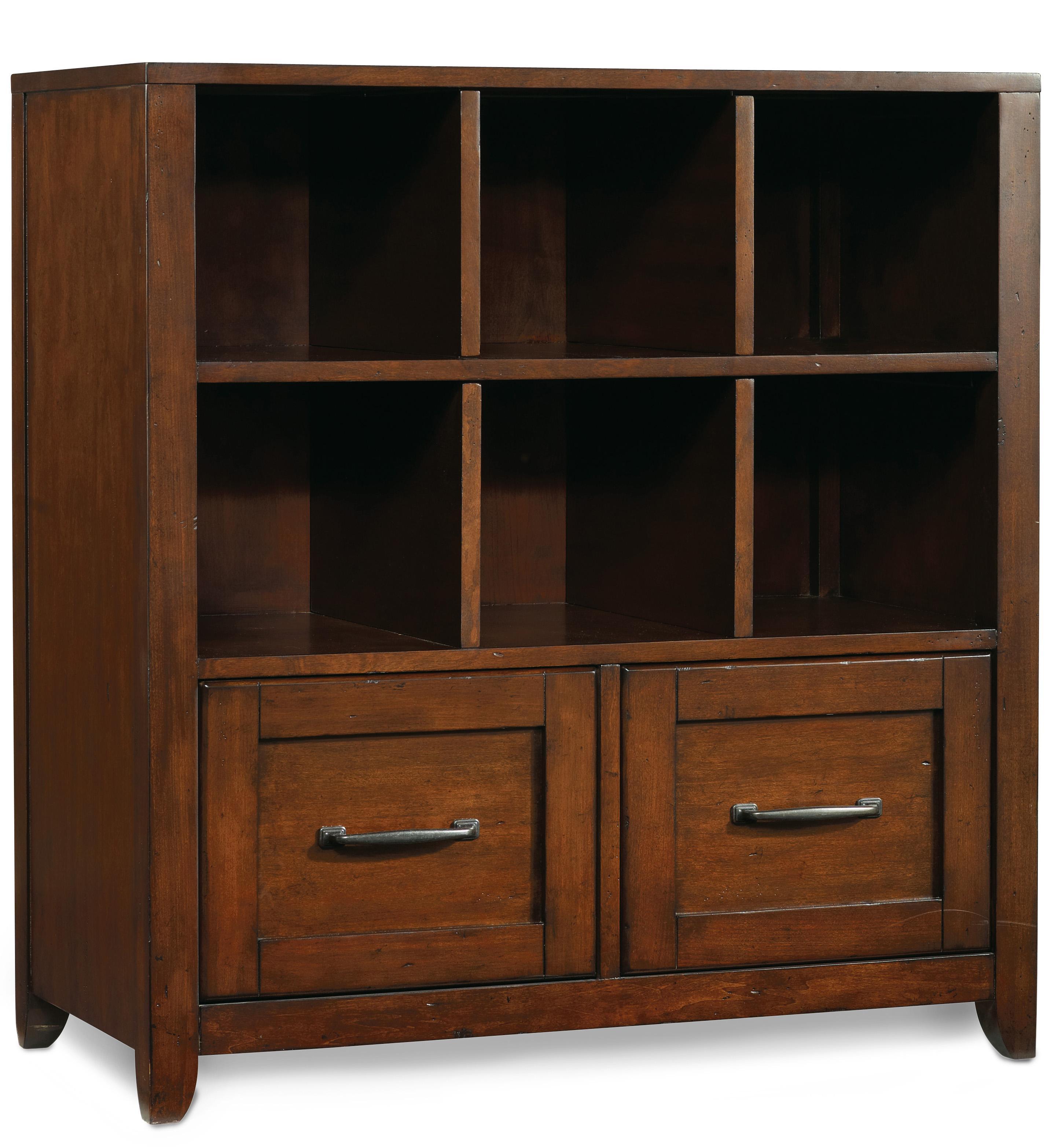 Hooker Furniture Wendover Utility Bookcase Pedestal  - Item Number: 1037-11304