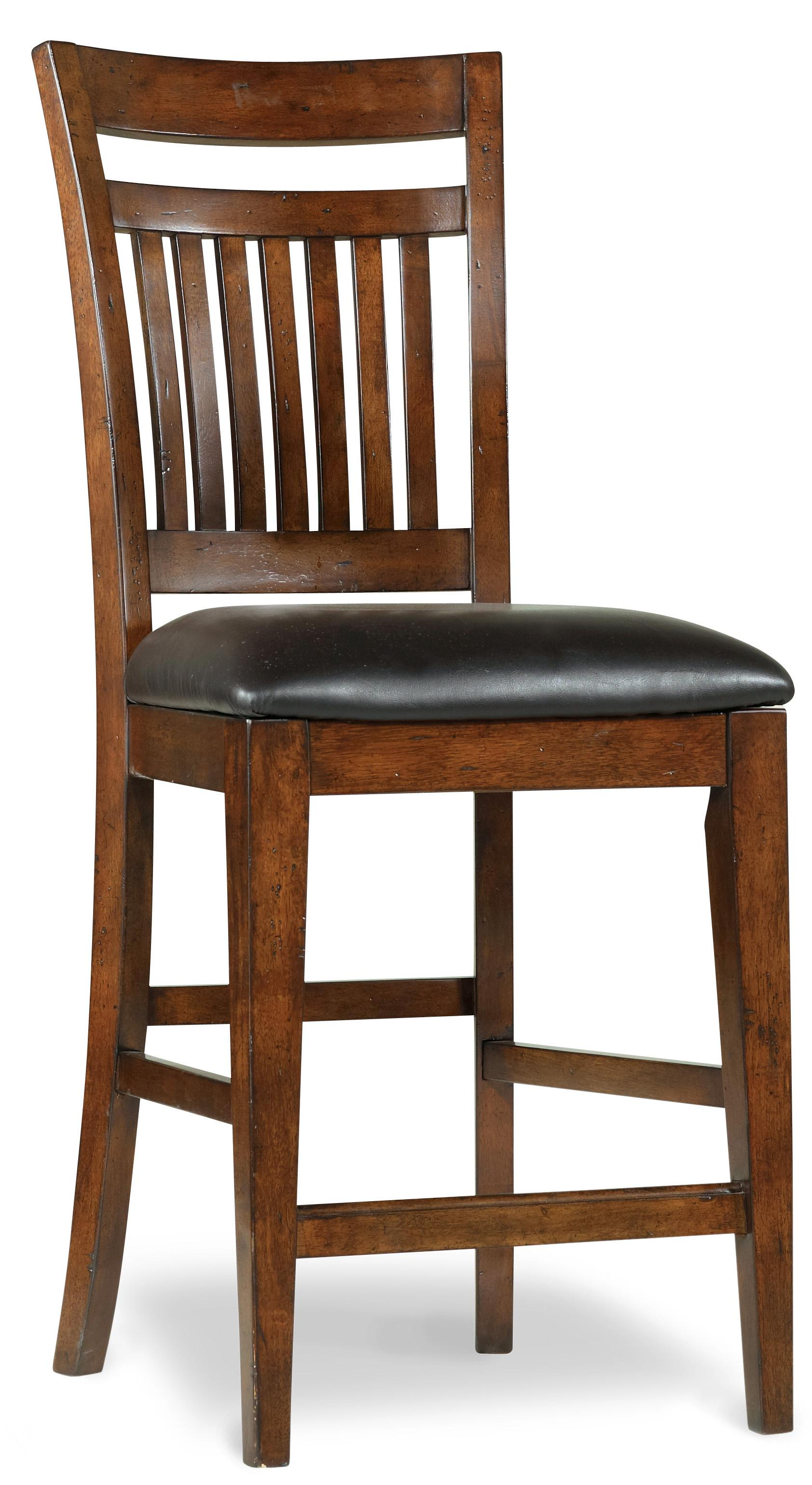 Hooker Furniture Wendover Counter Height Chair - Item Number: 1037-31222