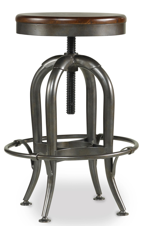Hooker Furniture Wendover Adjustable Height Stool - Item Number: 1037-31455