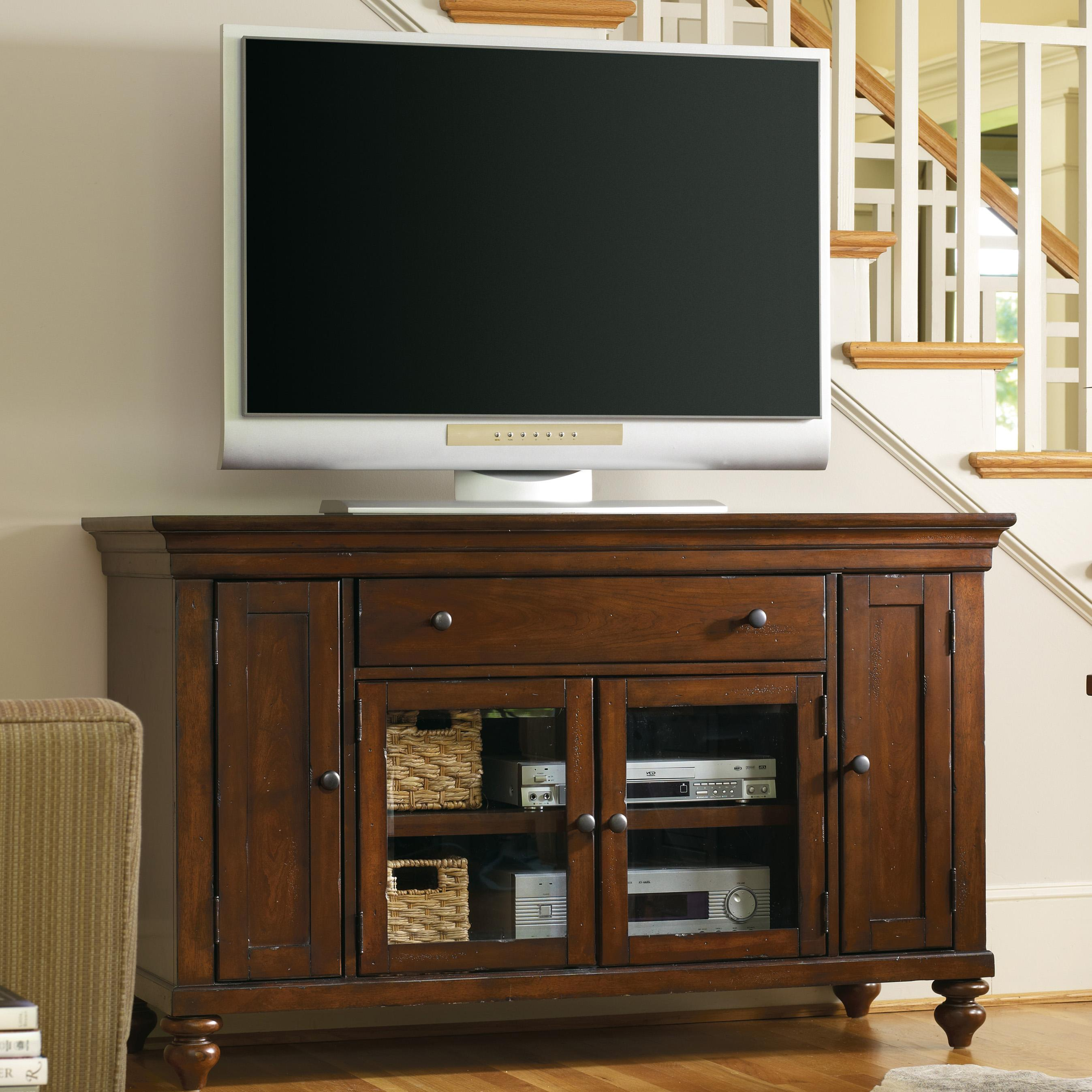 Hooker Furniture Wendover Four Door Entertainment Console