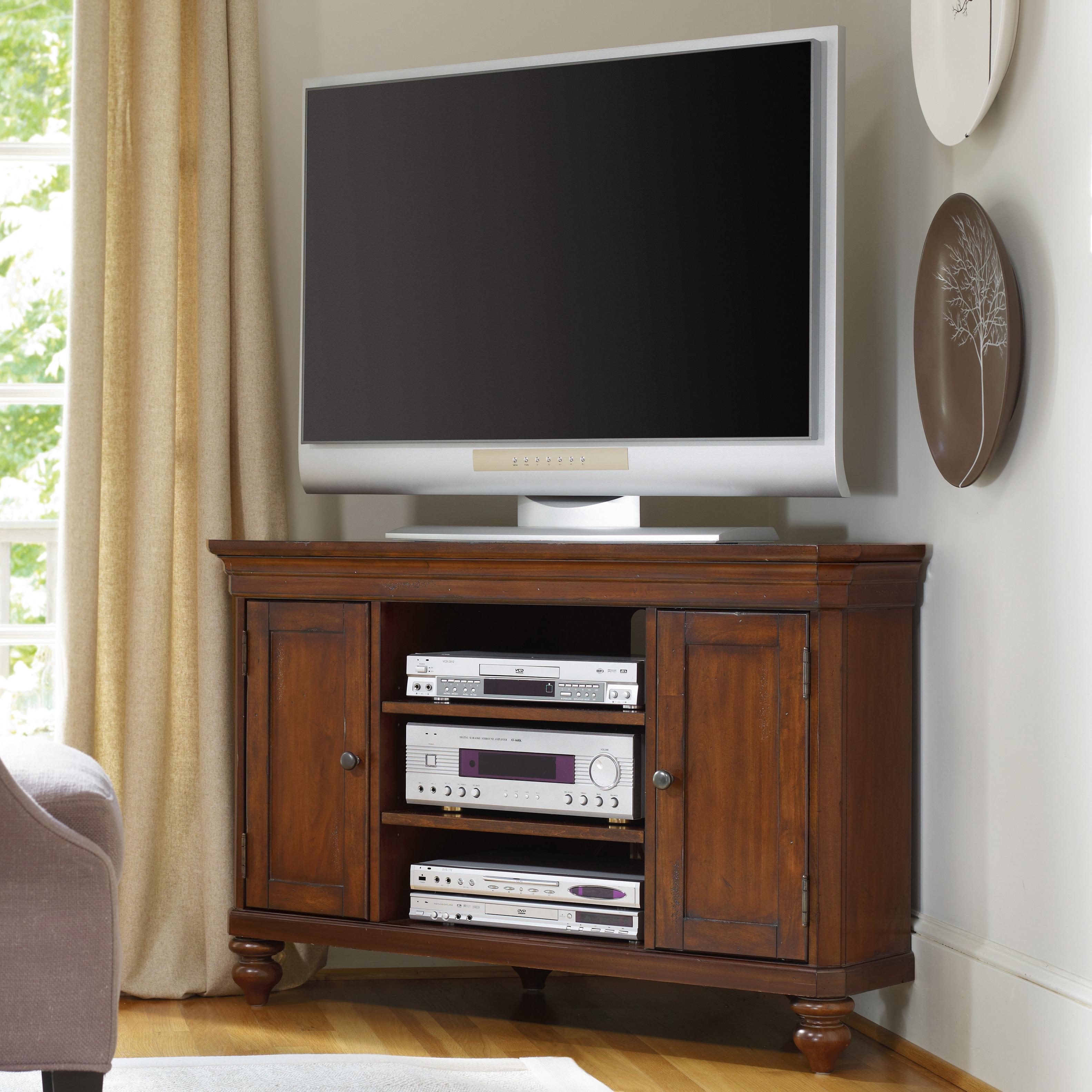 Hooker Furniture Wendover Corner Entertainment Console - Item Number: 1037-56488