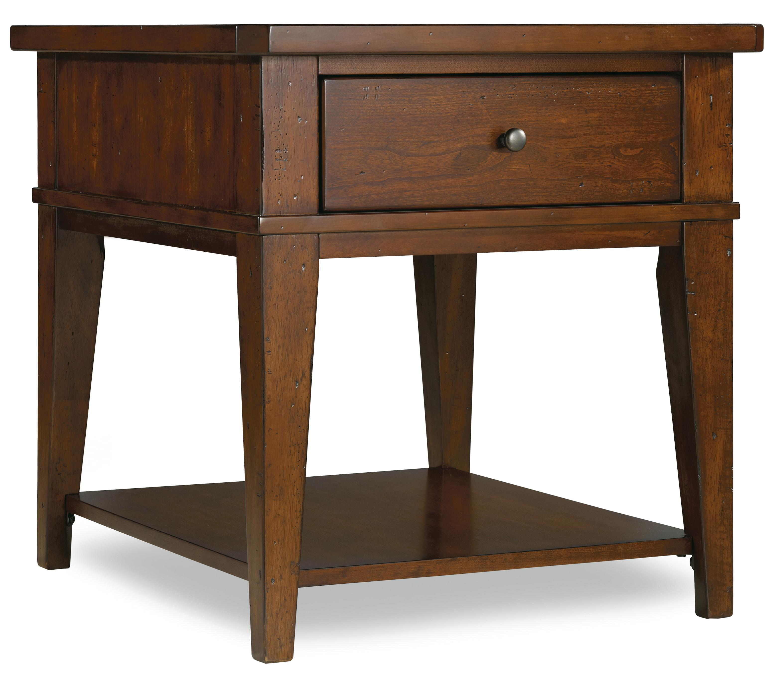 Hooker Furniture Wendover End Table - Item Number: 1037-81113