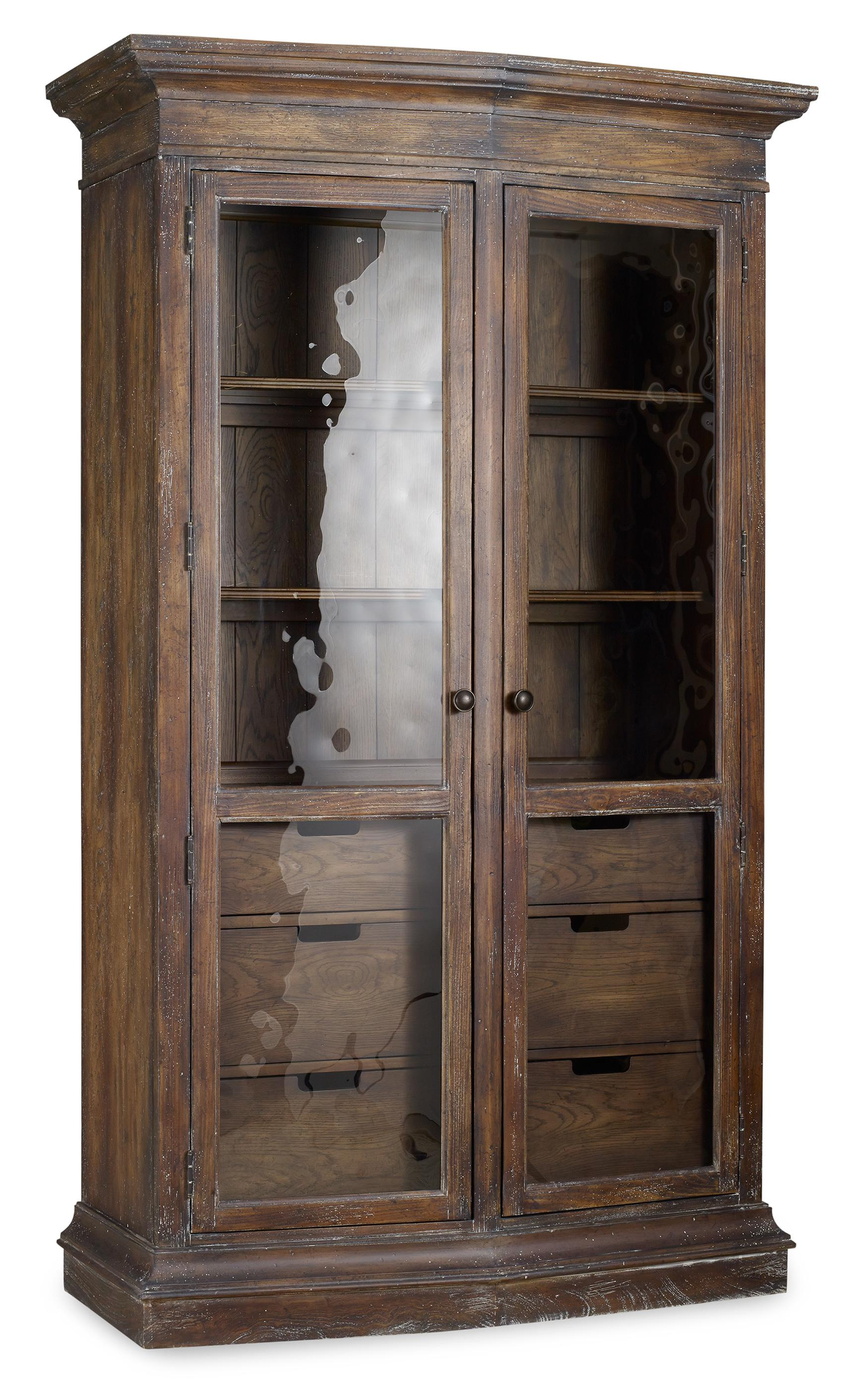 Hooker Furniture Willow Bend Display Cabinet - Item Number: 5343-75906