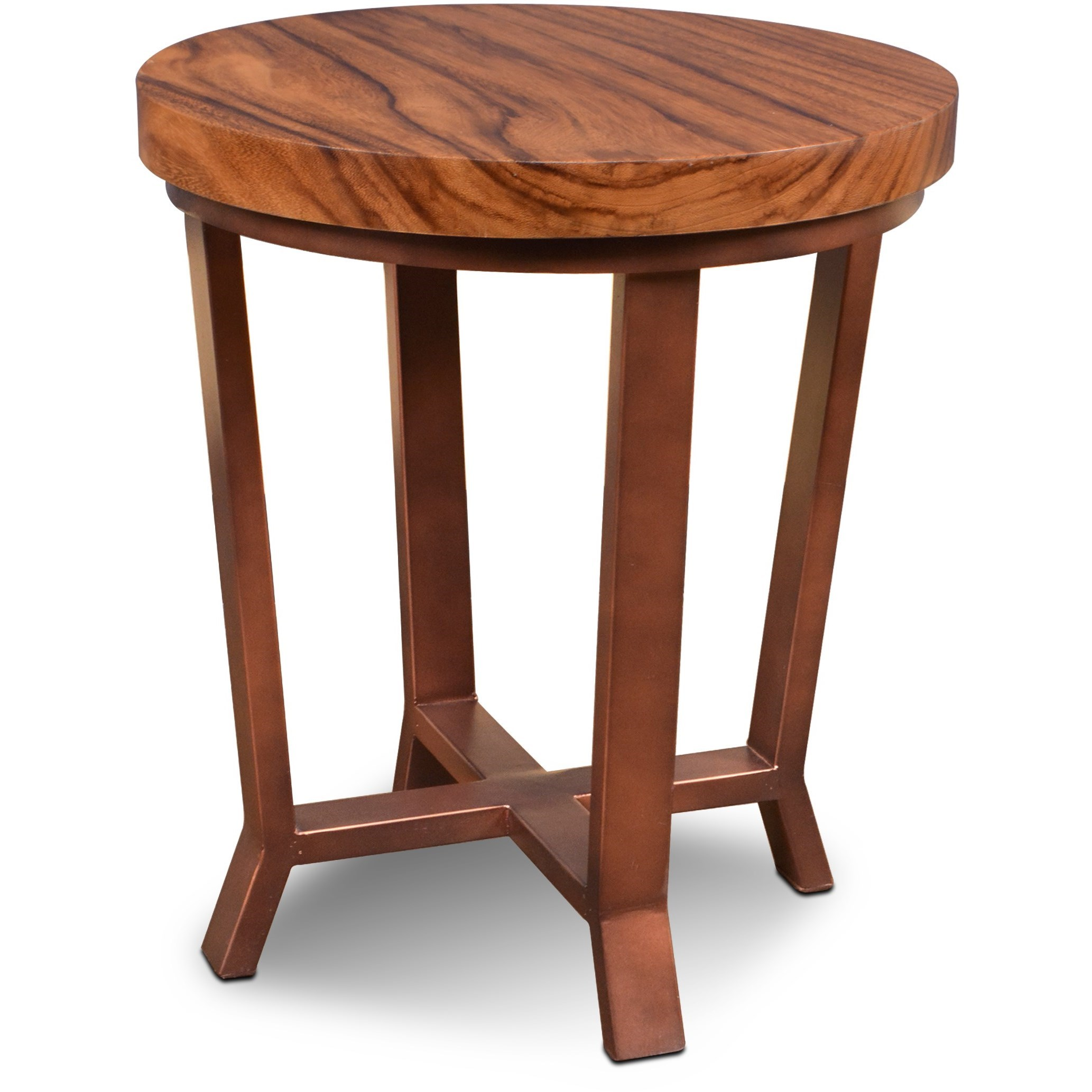 Amazon Round End Table by Horizon Home at Home Furnishings Direct