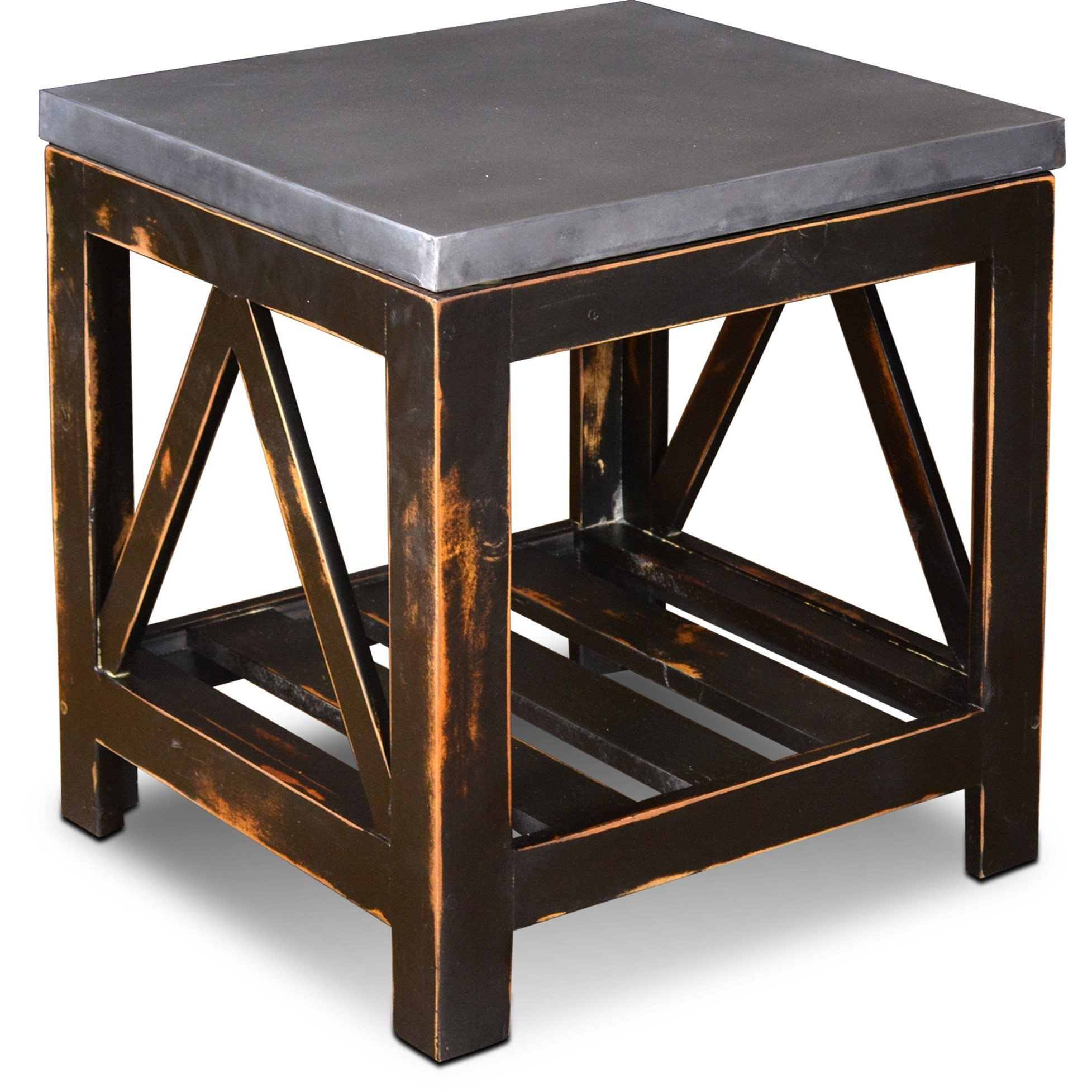 Aspen End Table by Horizon Home at Home Furnishings Direct