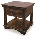 Horizon Home Burma Square End Table - Item Number: H1600-100