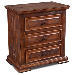 Horizon Home Cathedral 3 Drawer Nightstand