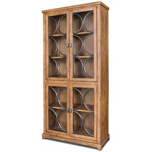 Metal Front Upright Cabinet