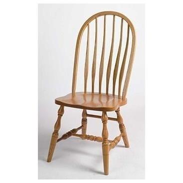 Solid Wood Regular High Back Side Chair