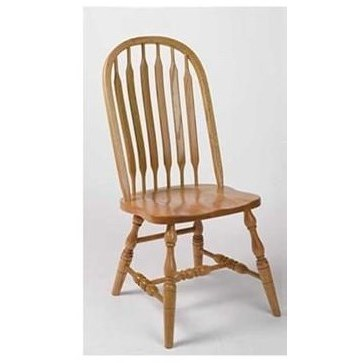 Deluxe Bent Paddle High Back Side Chair