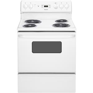 "Hotpoint Electric Ranges - Hotpoint 30"" Free-Standing Electric Range"