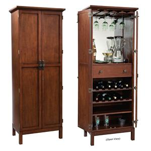 Howard Miller Wine & Bar Furnishings Sutton Bay Wine & Bar Cabinet