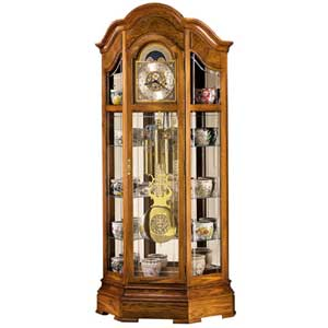 Howard Miller Clocks Majestic Curio Floor Clock