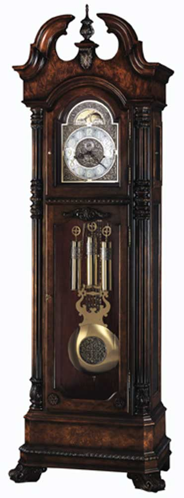 Howard Miller Clocks Reagan Grandfather Clock - Item Number: 610999-dc