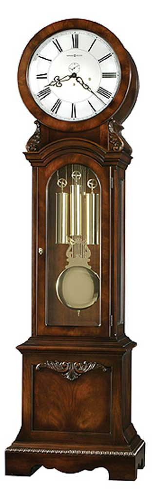 Howard Miller Clocks Engels Grandfather Clock - Item Number: 611064-dark